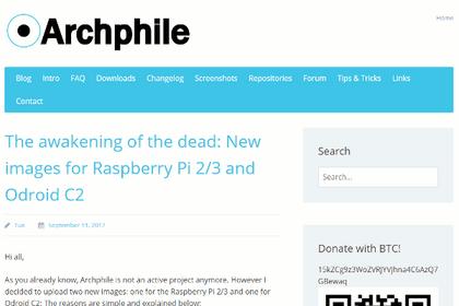 Archphile